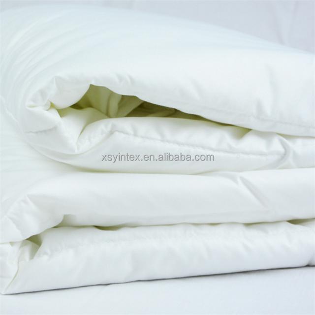 100% Cotton 550 Fill Power, Full/Queen Size, White Goose Down Duvet Cover Comforter Set