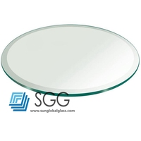 Clear Tempered Glass Coffee Table Top