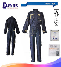 Custom Work Overall Workwear Safety Uniform Flame Retardant Coveralls