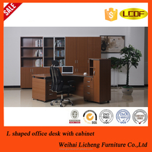 Most popular wooden Korea style director and manager MBF office desk