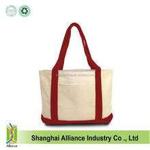 Huge Canvas Boat Tote Bags/Heavy Shopping Thick Cotton Boater Bags/Custom wholesale canvas bags