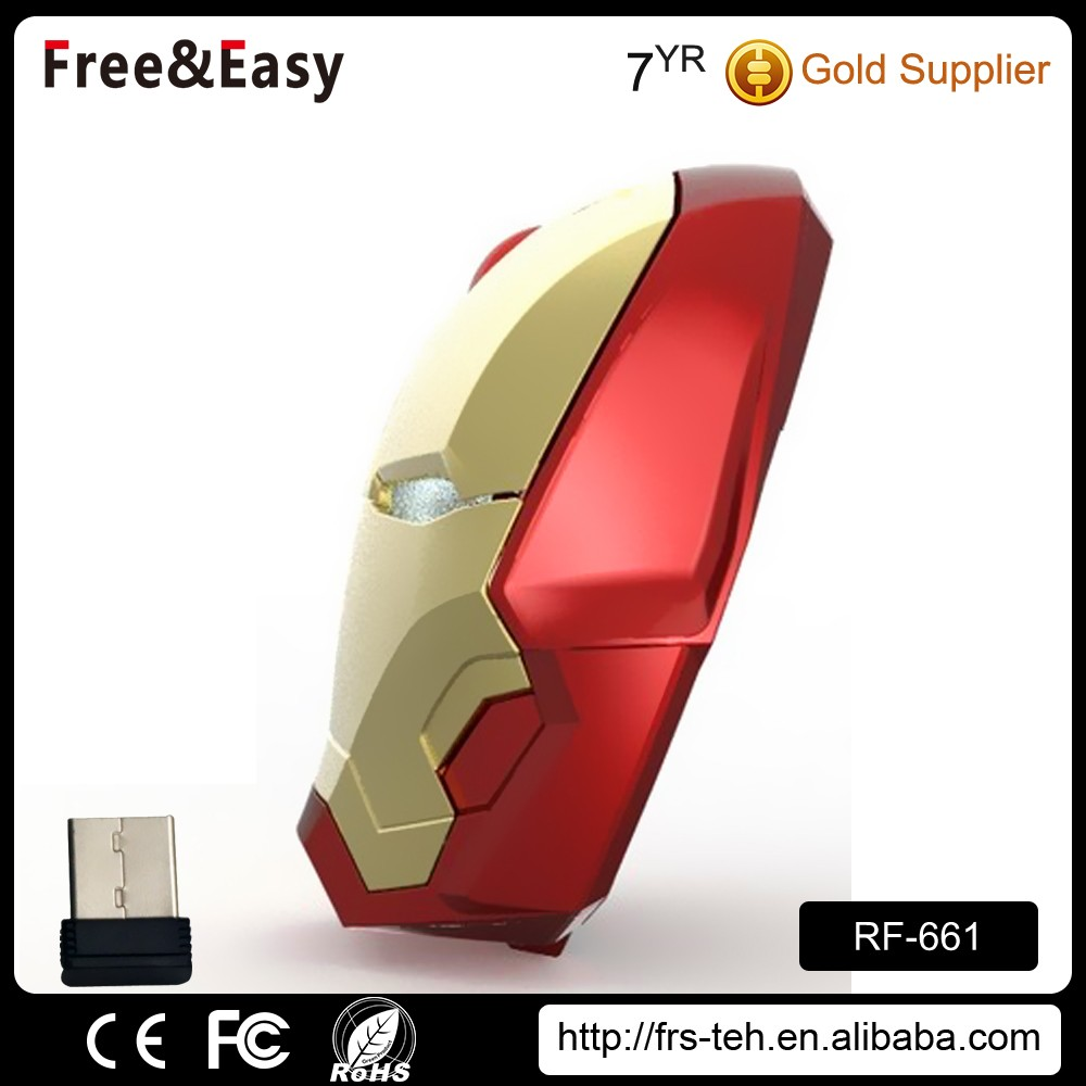 Unique Style RF 2.4ghz Wireless LED Mouse