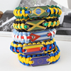 Custom survival paracord bracelet with your logo, paracord bracelet and dog tag bracelet