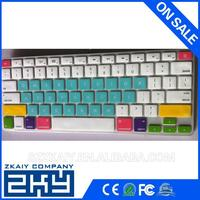 fashion custom silicone keyboard cover for macbook air