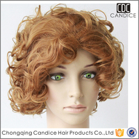 Alibaba Express synthetic Wigs Afro Curl Full Lace Wigs African American synthetic Wigs