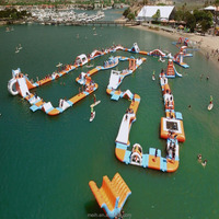 Giant Colorful Water Park Inflatable For