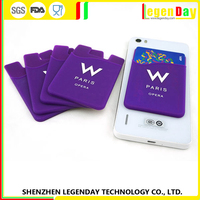 China Wholesale Mobile Phone Accessories Smart Oem Silicone Card Holder