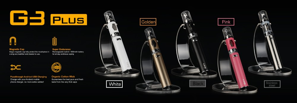 New Arrival 1600mAh Low Resistance 0.8ohm Vapor Pen