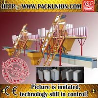Fast and esay construction eps sandwich wall board machine