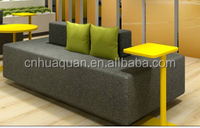 A560#Modern wood office furniture sofa and office sofa bench,sofa chair with single seating
