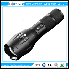 Wholesale 3 Mode Ultra Bright XML-T6 Waterproof LED single G700 Flashlight Zoomable torch