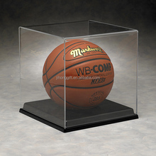 hot custom Acrylic Basketball and Soccer Ball Display Case