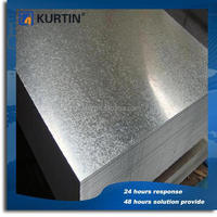 low price 0.6mm cold rolled galvanized steel sheet with SGS certificate