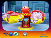 Electric game machine rotary mini big eyes self control plane