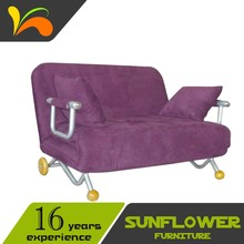 Microfiber Cover Cloth Futon Sofa Sleeper/ Mini Living room Sofa Bed <strong>Furniture</strong>