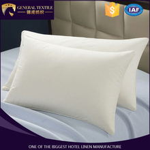Wholesale custom pillow filling material 100% cotton cover for hotel
