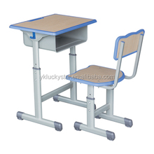 Single School Desk and Chair school furniture