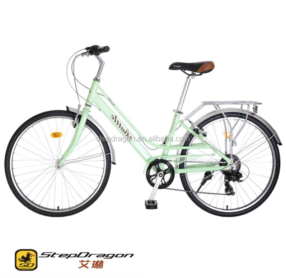 "Retail Irene 26"" Newest Cheap Bike / Lady Bicycle / Green City Popular with High Quality"