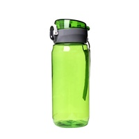 600ml Promotional Custom Logo Aluminum Sports Water Bottle with top cap