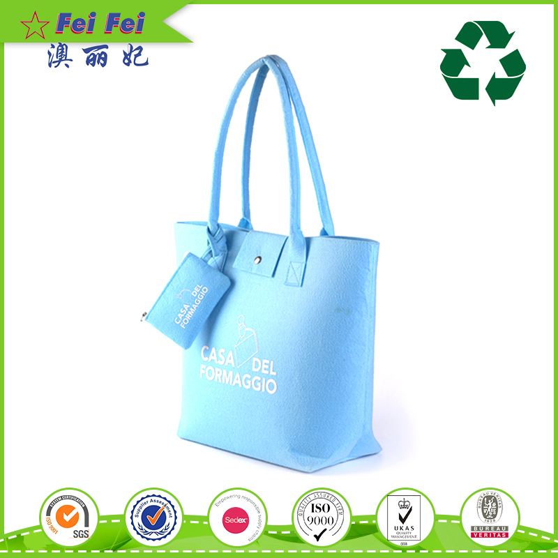 New product felt shopping tote bag wholesale manufacturer