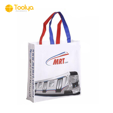 Promotional Cheap Customized Foldable Eco Fabric Tote Non-woven Shopping Bag Recyclable PP Non Woven Bags