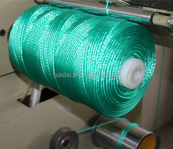 Good quality competitive price monofilament winding machine for winder pp hdpe twine thread ball spool