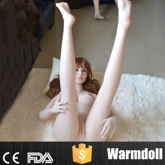 154cm Tall Girl With A Cup Breast 100% Waterproof Silicone-Sex-Doll-For-Men Masturbation