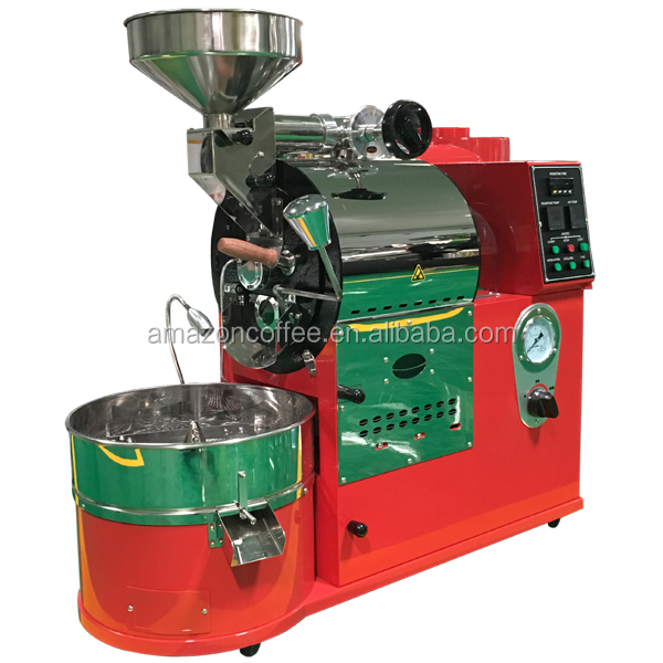 automatic Electric & <strong>Gas</strong> 1 Kg 2kg 3kg 5kg 6kg 10kg 20kg 30kg/coffee Roasting Machine /commerical Industrial 1kg Coffee Roast