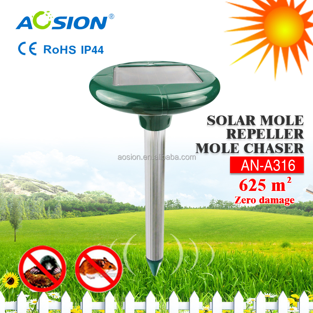 Home gardens 2015 garden tools wholesale solar Get rid of mole trap cleaning (AN-A316)