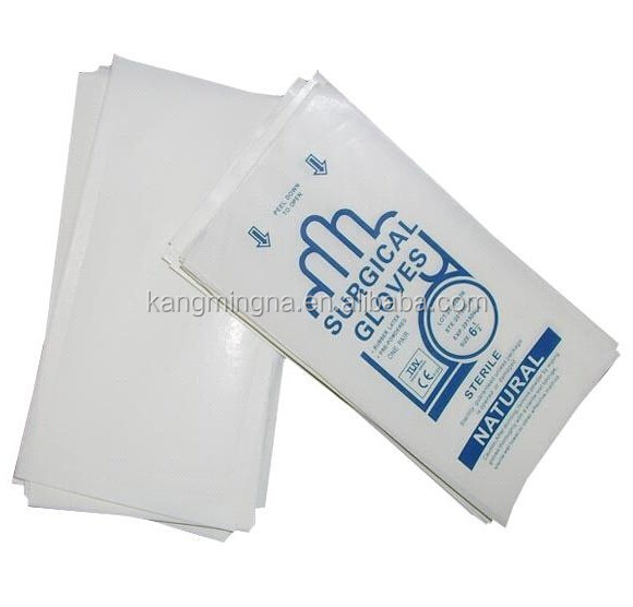 Surgical Gloves Use Sterilization Paper Bags Pouches