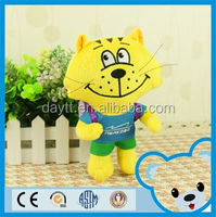 Baikoff Airport Customize promotional gift standing 18cm/30cm Buiness backpack stuffed animal cat toys