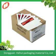 cheap wholesales high quality custom a4 document packing list enclosed envelope