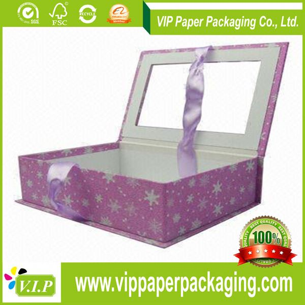 online shopping christmas cellophane window gift boxes