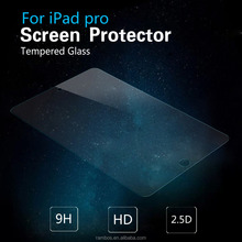 Front Cover Tablet 2.5D Curved Protective Film Tempered Glass Screen Protector Film for iPad Pro 12.9