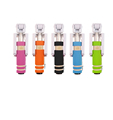 Colorful mobile phone wired flexible mini selfie stick monopod