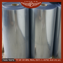 transparent PVC material roll hard plastic sheet