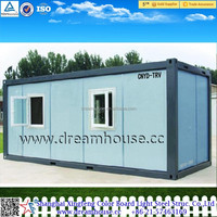 Flat pack portable storage container/self storage/sandwich panel flatpack container house for living