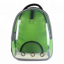 Wholesale Pet Dog Cat Carrier Travel Cage Bag Portable Transparent Space Clips Waterproof Backpack Pet Carrier Cases