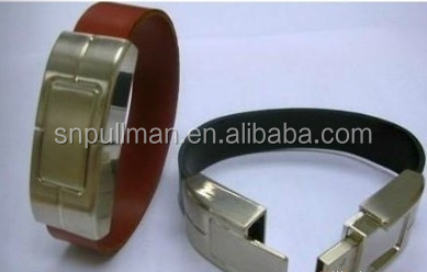 OEM Leather Army Wristband Usb Flash Drive