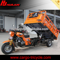Tipper carriage tricycle,hydraulic device for cargo motorcycle use