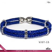 2014 HOT Sale Wedding VIP Gifts,Cute Bracelet anniversary Gift for girlfriend,Stingray Leather Bracelet OEM Manufacturer