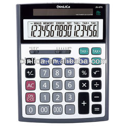 flat solar calculator/function table scientific calculator