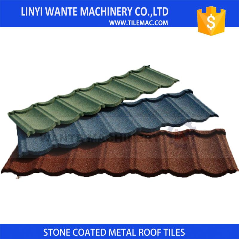 durable Wholesale Decorative Flat Metal Roof Shingle with A grade
