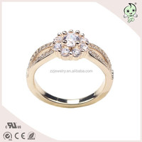 Clean And Pure Diamond Silver Ring