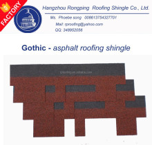 [Factory supplier ]Gothic fiberglass asphalt roofing shingle price,cheap building material
