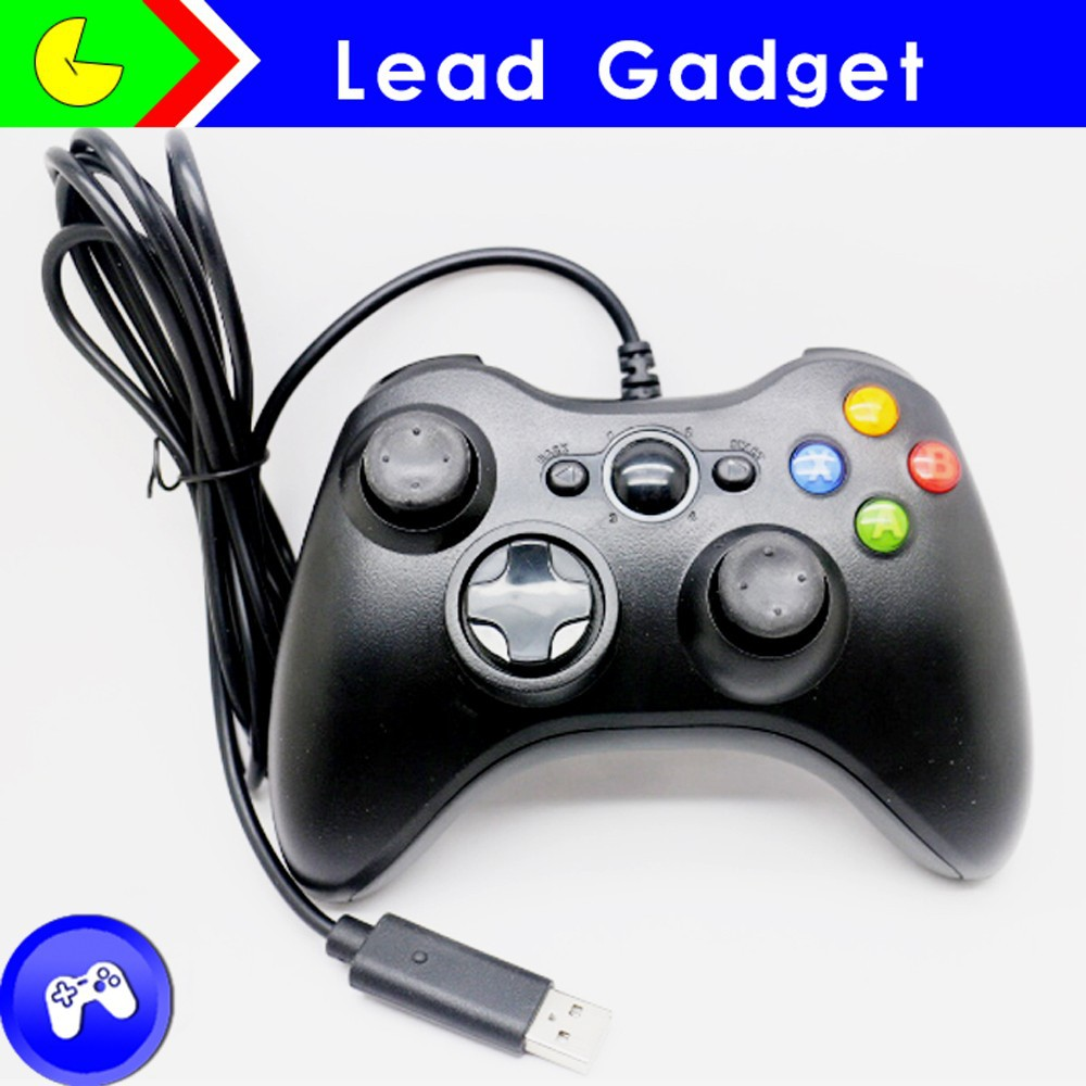 USB Wired Computer Game Handle Controller