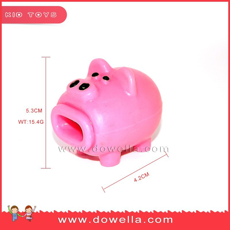 Wholesale TPR squeeze toy Spit out the tongue, cute pig squeeze toys for chirldren