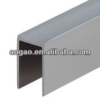 12mm thick HPL aluminum toilet cubicle u profile