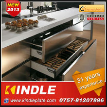 high quality modular 304 stainless steel kitchens and kitchen furniture