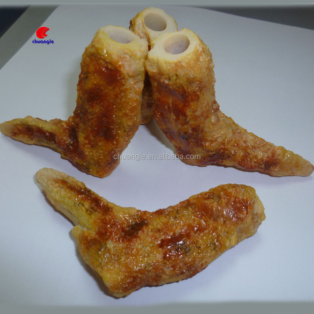 Artificial chicken wings, simulation food for food shop
